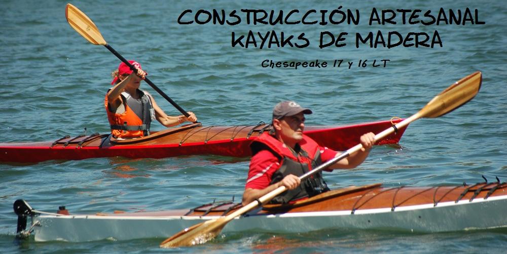 Construcción de un kayak de madera y epoxi - Joan Olaria